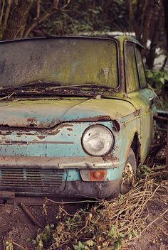 abandoned Hillman Imp