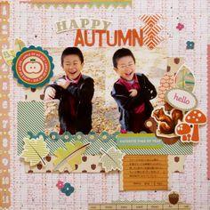 『Happy Autumn』 by Miyuki Kawakami