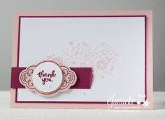 Stampin' Up! - Happy Stampin' - Label me Pretty