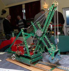 Meccano Steam Excavator