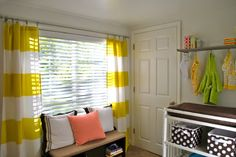 Once you find the right fit, shower curtains make a genius alternative to more-expensive window treatments. Many come in stylish designs that you'll be proud to move from the bathroom to the bedroom.  Source: The Suburban Urbanist