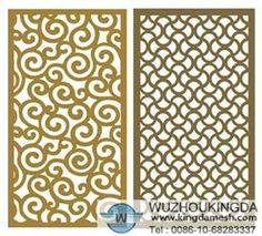 decorative metal panels for porch floor?