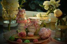 ♡ Selfmade Present ♡ ♧selbstgemachte Badepralinen,  Duschpeeling, Badesalz und Lippenbalsam ♧♡♡♡