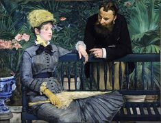 Édouard Manet - In the Conservatory (1879)