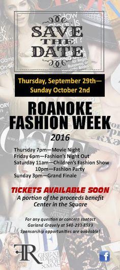 Roanoke Fashion Week 2016