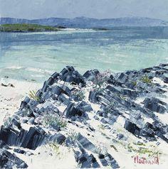 Frances Macdonald,  A favourite place of mine, Iona.  Passing Islands - The Scottish Gallery, Edinburgh - Contemporary Art Since 1842
