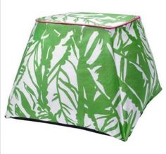 Lilly Pulitzer For Target Floor Pouf Indoor/Outdoor PIllow Boom Boom Green  Newu2026