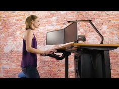 """UPLIFT Desk has the #1 Bamboo Stand Up Desk in the industry with 1"""" thick bamboo, a quiet 3-stage frame, and customization options. Build yours at UPLIFT Desk!"""