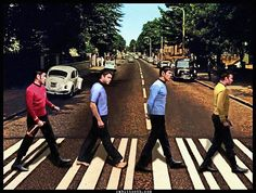 I guess eventually everyone crosses Abby road..