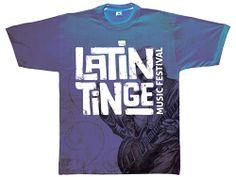 Latin Tinge Music Festival Tee