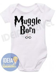 Body Infantil Muggle Born (Harry Potter)