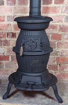 Vintage Manchester Foundry Cast Iron Wood / Coal Burning ...