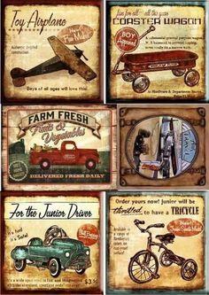 vintage decoupage 39 little bi Decoupage Vintage, Vintage Diy, Vintage Labels, Vintage Ephemera, Vintage Cards, Vintage Signs, Design Vintage, Images Vintage, Vintage Pictures
