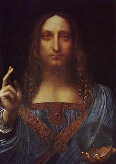 Christ Pantocrator by Leonardo da Vinci