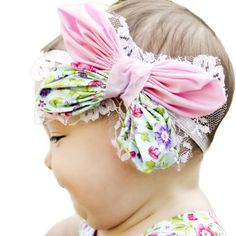 Butterfly Flower Headband | YouCanMakeThis.com
