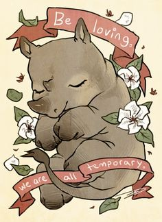 reminder series: bleak yet comforting thoughts. i specifically chose animals that are (or believed to be) extinct due to human influence: thylacine, great auk, baiji, west african black rhino, golden. Kawaii, Wallpaper Telephone, Auryn, Animal Quotes, Cute Drawings, Overwatch, Cute Art, Art Inspo, Cute Quotes