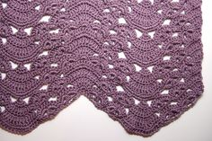 Make It Crochet | Your Daily Dose of Crochet Beauty | Free Crochet Pattern: Fans and Pansies Ripple
