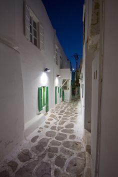 Mykonos Alley - Greece