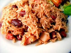 You cant go wrong with Haitian rice and beans! Comfort food at its finest.