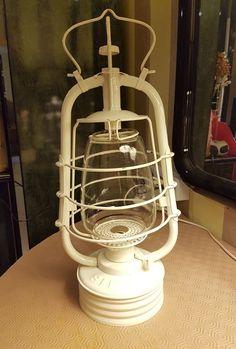 Ancienne Lanterne Lampe a Pétrole Tempête SIF 500 collection entièrement rénovée
