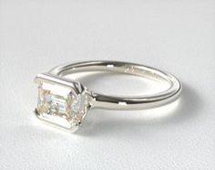 Modern Tension Set Engagement Rings | JamesAllen.com Matching Wedding Rings, Wedding Matches, Engagement Rings Sale, White Gold, Jewels, Gemstones, Diamond, Modern, Trendy Tree