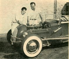 Louis Banto and Jack Perre's 1927 Ford roadster