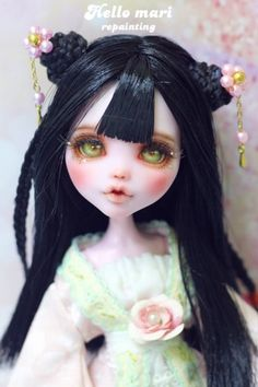 #OOAK #MonsterHigh #DollRepaint #HelloMariRepaint http://yahos.kr/bbs/board.php?bo_table=doll_auc&wr_id=49212야호스에서 7월 25일 월요일 밤 12시까...