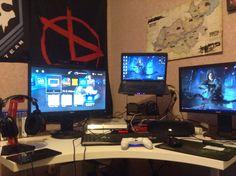 PS4/Laptop Battlestation