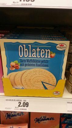 Bekannt sind die Karlsbader Oblaten aus Tschechien. Da Tschechien zum Ostblock gehörte, waren sie auch in der DDR erhältlich.