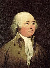 """John Adams. """"All the perplexities, confusion and distress in America arise, not from defects in their Constitution or Confederation, not from want of honor or virtue, so much as from the downright ignorance of the nature of coin, credit and circulation."""""""
