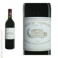 Chateau Margaux, Margaux, France wine label