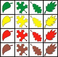 Fejlesztő Műhely: Fejlesztő ötletek Color Activities, Autumn Activities, Preschool Activities, Children Activities, Autumn Leaves Craft, Fall Games, Tree Study, Printable Preschool Worksheets, Coding For Kids
