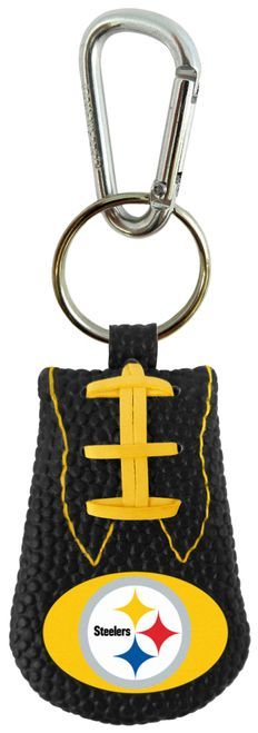 Pittsburgh Steelers Team Color NFL Football Keychain