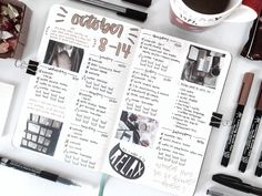 """studytherin: """"ʚ 20th oct 2017 ɞ last week's spread is here!! (i know i'm late, sorry ;^;) i've just started working on my calculus since the second semester is about to start within 2 weeks. and guess what, i'm not ready for it ¯\_(ツ)_/¯ studygram """""""