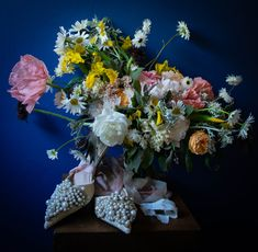 Wild Summer Wedding bouquet by Mountain Daisy. We cover Scotland and N England and post dry florals worldwide. Scottish Flowers, Summer Wedding Bouquets, Second Weddings, Flower Farm, Florals, Scotland, Daisy, Floral Wreath, Mountain