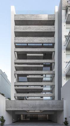Edificio Ravignani 2170, Bº Palermo, Buenos Aires (Argentina) | ATV Arquitectos  # Edificio de viviendas # Entre medianeras