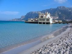 Mondello Sicily, great place for windsurfing