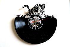 Winne the Pooh-2 Design vinyl record wall clock