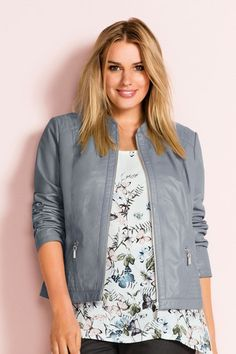 Buy Capture Woman Leather Jacket | Shop Womens Jackets & Vests All Womens Styles at EziBuy NZ