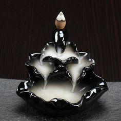 Back flow Incense Burner | Dark Zen Waterfalls