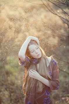November's Magic (by loretoidas) Autumn Photography, Art Photography, Autumn Painting, Female Portrait, Woman Portrait, Anne Of Green Gables, Beautiful World, Beautiful Things, Wild Flowers