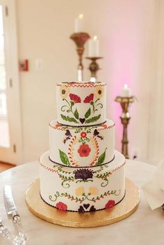 wedding cakes ideas Exciting And Colourful Mexican Wedding Cake Ideas Wedding planning ideas amp; Wedding dresses, decor, and lots more. Beautiful Wedding Cakes, Beautiful Cakes, Amazing Cakes, Mexican Themed Weddings, Mexican Wedding Dresses, Mexican Themed Cakes, Mexican Fiesta Cake, Mexican Cakes, Mexican Wedding Decorations