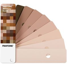 The Pantone SkinTone™️ Guide was created by scientifically measuring thousands of actual skin tones Color Palette For Home, Skin Color Palette, Paint Colors For Home, Wall Colors, House Colors, Colours, Skin Colors, Neutral Colors, Pantone Color