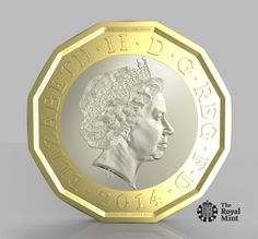 Prototype of New UK £1 Coin - March 2014 http://www.royalmint.com/aboutus/news/the-new-1-pound-coin