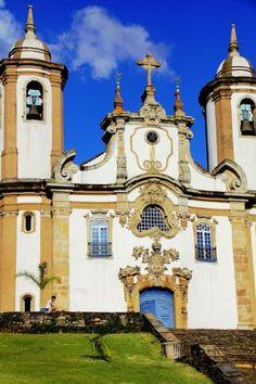 Igreja de Nossa Senhora do Carmo - Mariana - MG - Brasil