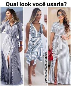 Shop sexy club dresses, jeans, shoes, bodysuits, skirts and more. Cute Dresses, Casual Dresses, Boho Fashion, Fashion Dresses, Leila, Floral Print Maxi Dress, Colourful Outfits, Chiffon Dress, Striped Dress
