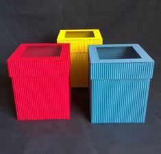 Cajas De Cartón Corrugado Para Recuerdos Y Regalos - $ 7.00 en ...