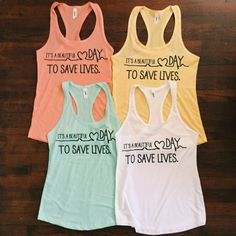 It's A Beautiful Day To Save Lives Women by infinityowlapparel