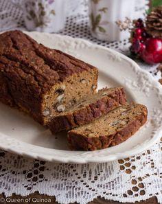 Coconut Flour Pumpkin Bread and more of the best coconut flour bread recipes on MyNaturalFamily.com #coconutflour #recipe