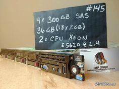 Serveur HP ProLiant DL360 G7 750$  #145 Serveur HP ProLiant DL360 G7 CPU : 2X  xeon Quad Core E5620 @ 2,40GHz HDD :4X 300GB (SAS 2.5) Ram:   36 Go Ram/Mémoire Vive Power Supply 2 x 460 Watts Modèle réputé pour sa solidité, sa fiabilité et sa performance. Vous ne trouverez pas cette qualité dans les magasins à rayons. Quad, Waiting Staff, Shops, Projects, Quad Bike